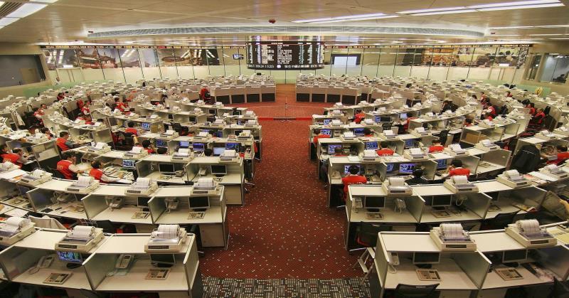 Выросла чистая прибыль Гонконгской фондовой биржи