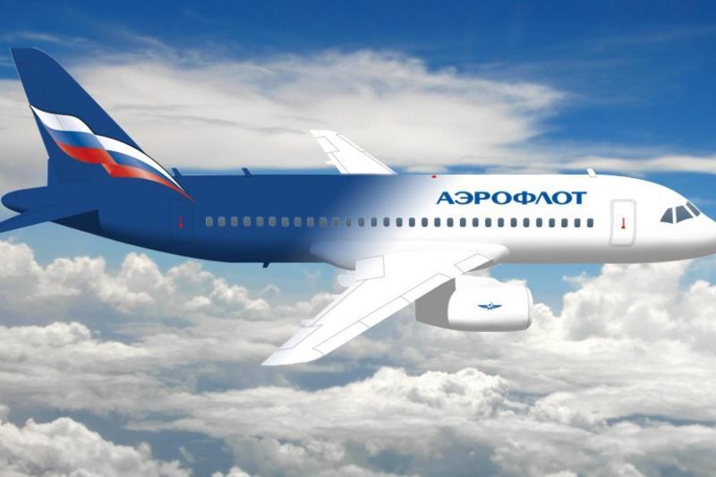 """Группа """"Аэрофлот"""" снизила перевозки пассажиров в 2 раза"""