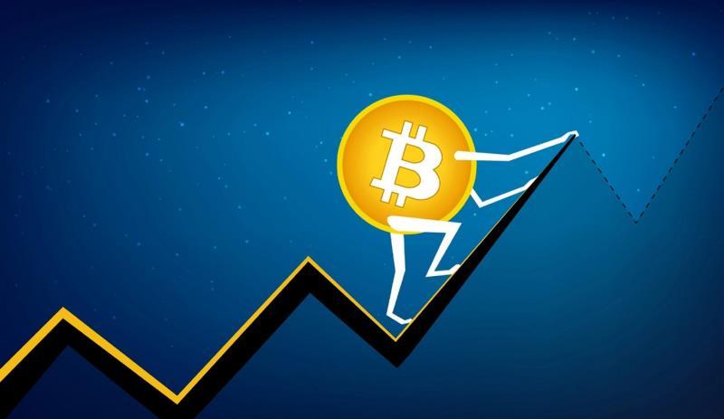 Цена на биткоин продолжает обновлять максимумы