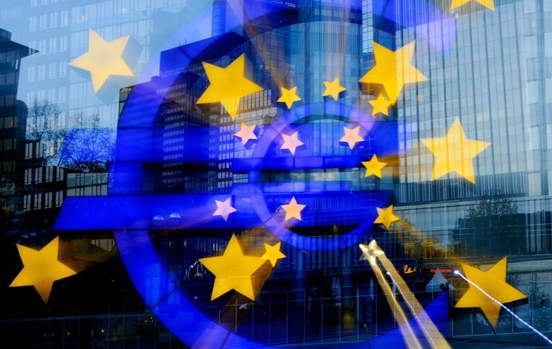 ЕЦБ ждет сокращения ВВП в еврозоне по итогам первого квартала