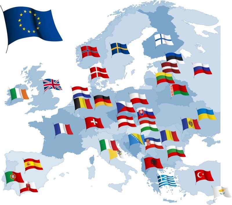 Еврозона: объем промпроизводства снизился в феврале на 1%