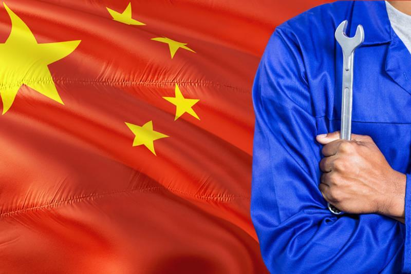 Китай: объем промпроизводства в августе вырос